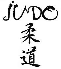 Judo japán betűkkel